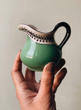 Load image into Gallery viewer, Antique Art Deco Green Jug