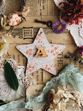 Load image into Gallery viewer, Handmade Decorative Wooden Star Plaque / hanging
