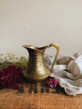 Load image into Gallery viewer, Vintage Brass Jug