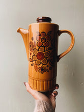 Load image into Gallery viewer, Retro 1960's Palissy Floral Coffee Pot