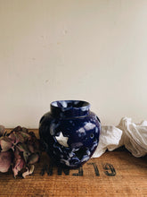 Load image into Gallery viewer, Rustic Star Blue Glaze Holder