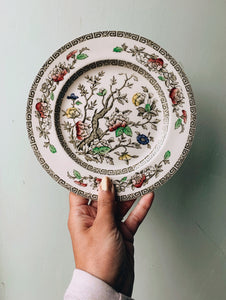 Vintage Floral Indian Tree Meakin Side Plates