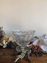 Load image into Gallery viewer, Antique Decorative Glass Dessert Dish