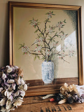 Load image into Gallery viewer, Vintage Blossom in Oriental Vase ~ mixed media