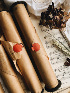 Antique Pianola Roll