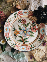 Load image into Gallery viewer, Rustic Hand~painted European Floral Wall Plate