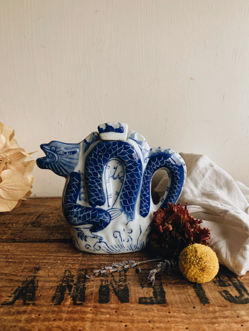 Vintage Dragon Decorative Tea Pot