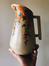 Load image into Gallery viewer, Vintage Floral Camden Speckle Jug / Vase