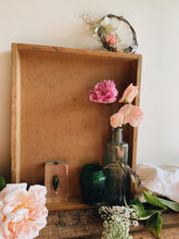 Load image into Gallery viewer, Vintage Rustic Wooden Tray