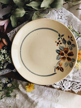 Load image into Gallery viewer, Vintage French Decorative Floral Plates ~ Digoin  (sold separately)