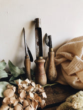 Load image into Gallery viewer, Antique Small Collection of Wooden Tools