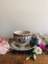 Load image into Gallery viewer, Vintage Cup & Saucer