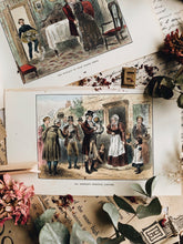 Load image into Gallery viewer, Two Antique 1800's Narrative Aquatint Plate Prints