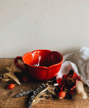 Load image into Gallery viewer, Hand Thrown Poppy Cup