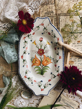 Load image into Gallery viewer, Vintage European Floral Dish