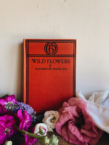 1920's Wildflowers Book ~ McGregor Skene