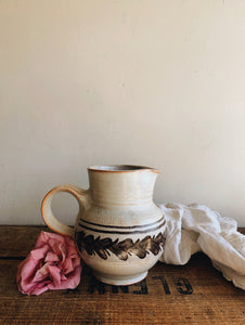 Rustic Ceramic French Jug