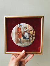 Load image into Gallery viewer, Vintage Staffordshire Vintage Enamel Illustration Artwork ~ 1