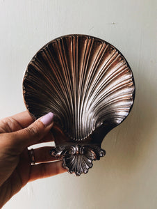 Victorian Silver Shell Dish