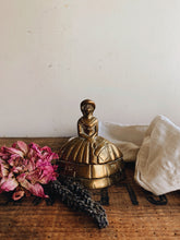 Load image into Gallery viewer, Antique Brass lady Bell