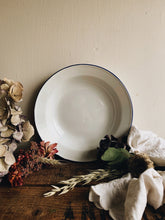 Load image into Gallery viewer, Vintage White Enamel Bowl