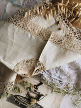 Load image into Gallery viewer, Three Antique French Linens