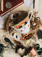 Load image into Gallery viewer, Antique Decorative Hand Engraved Cup & Saucer