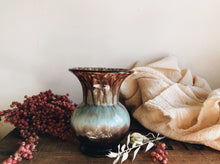 Load image into Gallery viewer, Vintage Green Marble Vase