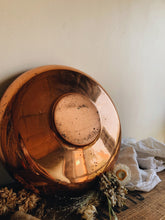 Load image into Gallery viewer, Large Vintage Patina Copper Bowl