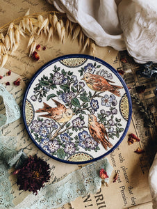 Vintage Decorative Bird Plate