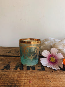Vintage Decorative Glass Accessorising Cups