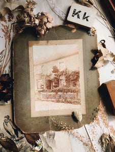 Antique Suffolk Cottage Photograph (Ipswich)