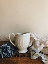 Load image into Gallery viewer, Vintage White Milk Jug