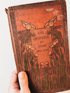 "Antique 19th Century Sir Quixote ""moors""~ by John Buchan (signed 1915 as a gift)"