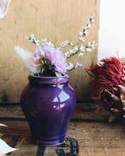 Load image into Gallery viewer, Vintage Purple Ink Pot