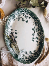 Load image into Gallery viewer, Antique Teal Green Dish