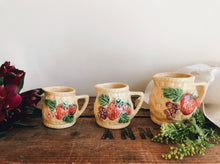 Load image into Gallery viewer, Summer Fruits Basket Kitsch Jugs