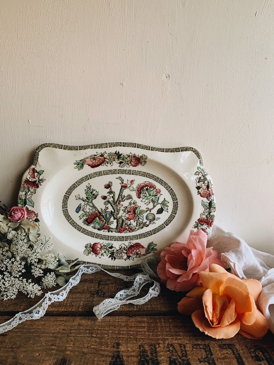 Vintage Johnson & Bro's Decorative Platter