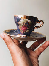 Load image into Gallery viewer, Antique Blue Rocco Cup & Saucer