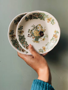 Vintage Decorative Mason's Tea Plate (sold separately)