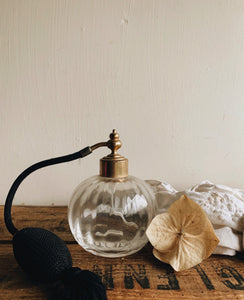 Vintage Perfume Bottle & Spray