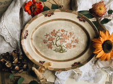 Load image into Gallery viewer, Large Antique Decorative Serving Dish ~ crazing galore (UK shipping only)