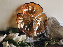 Load image into Gallery viewer, Vintage Orange Glass Shell Dish