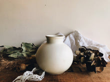 Load image into Gallery viewer, Vintage Poole White Ginger Pot (no lid)