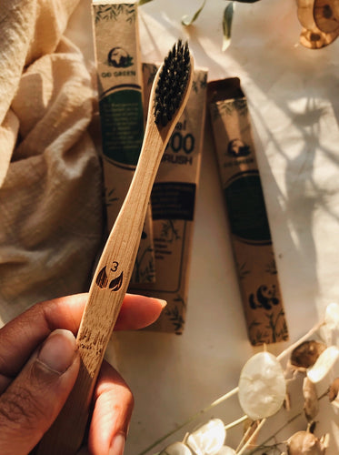 Until The Ocean ~ Eco Bamboo & Charcoal Toothbrushes