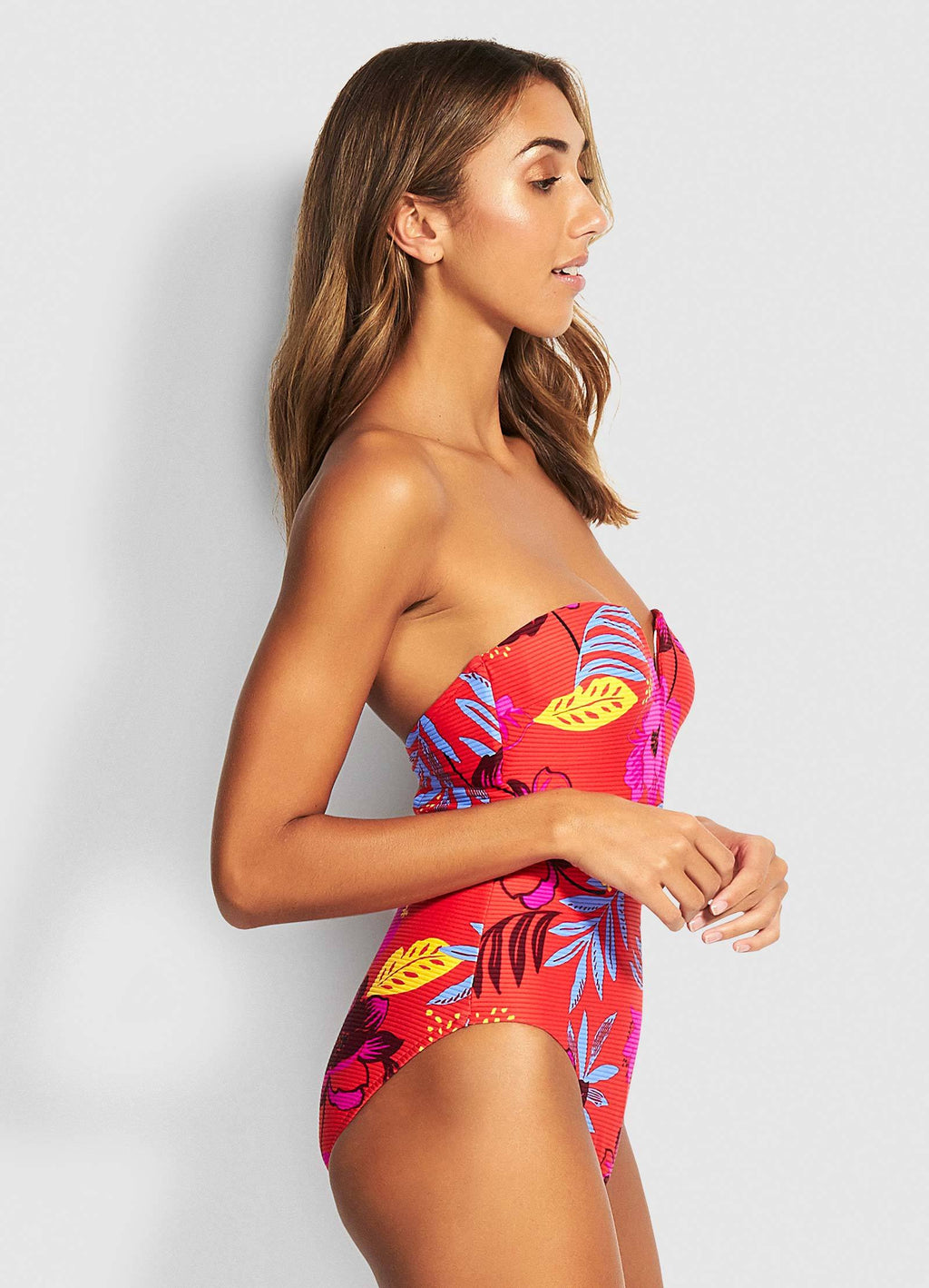 On Vacation Bandeau One Piece