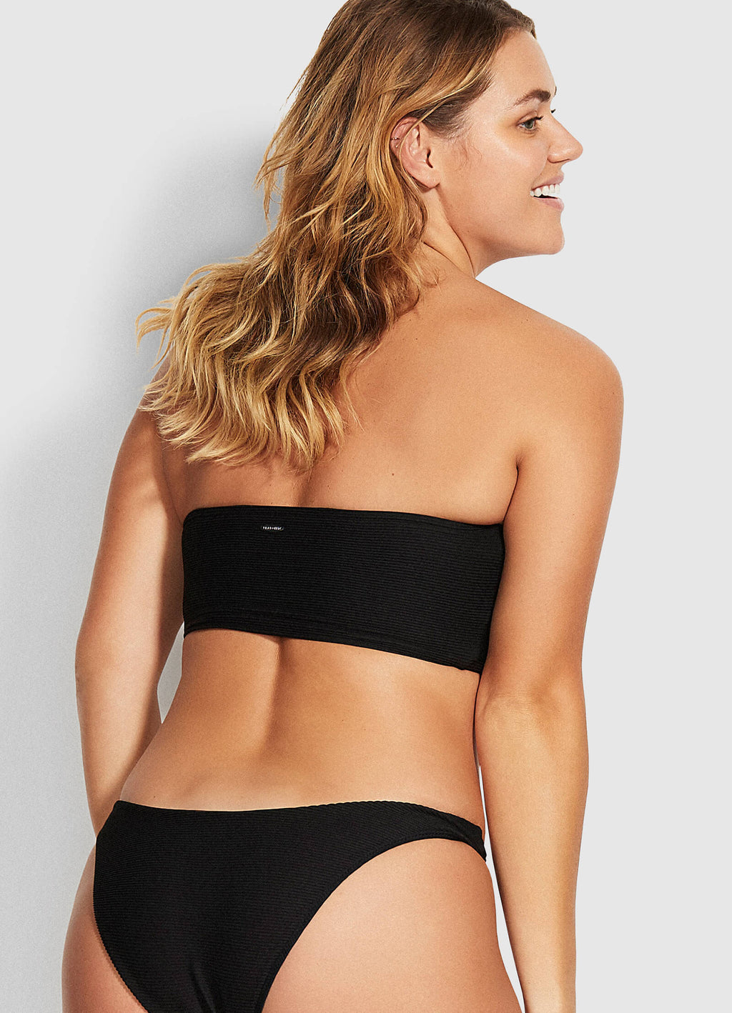 Essentials Tube Bandeau Top Black
