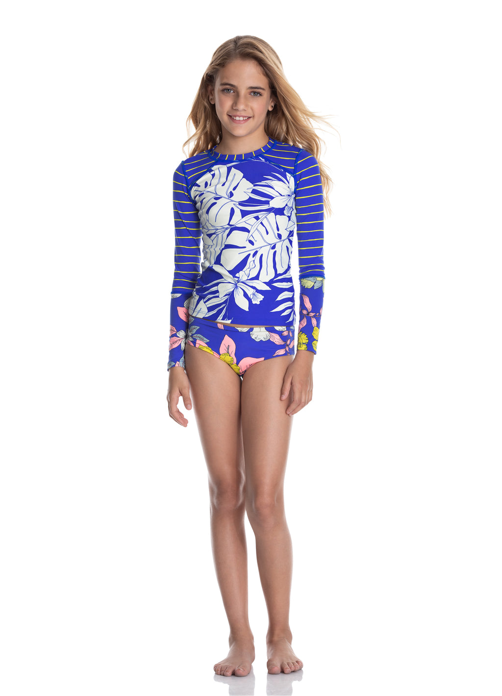 Girls Rashguard Set Bubbles
