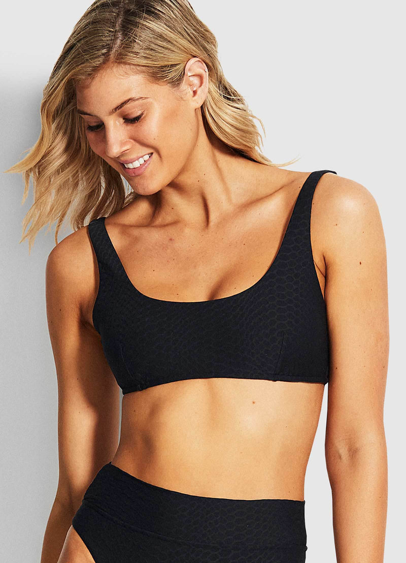 Medusa Bralette Top Black