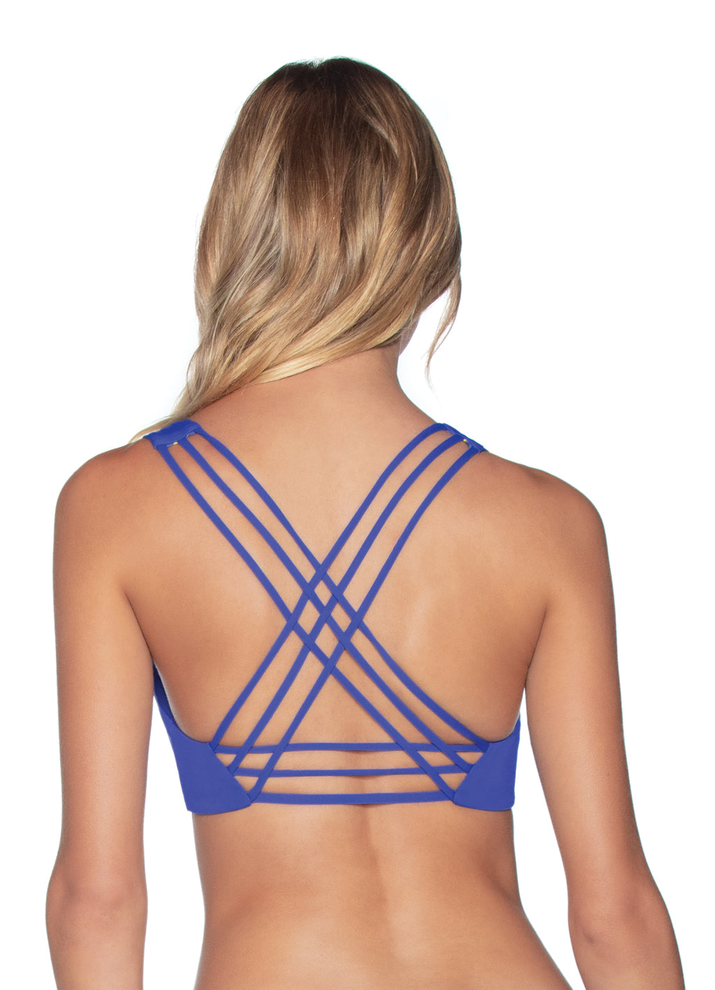Saline Top in Pacific Blue